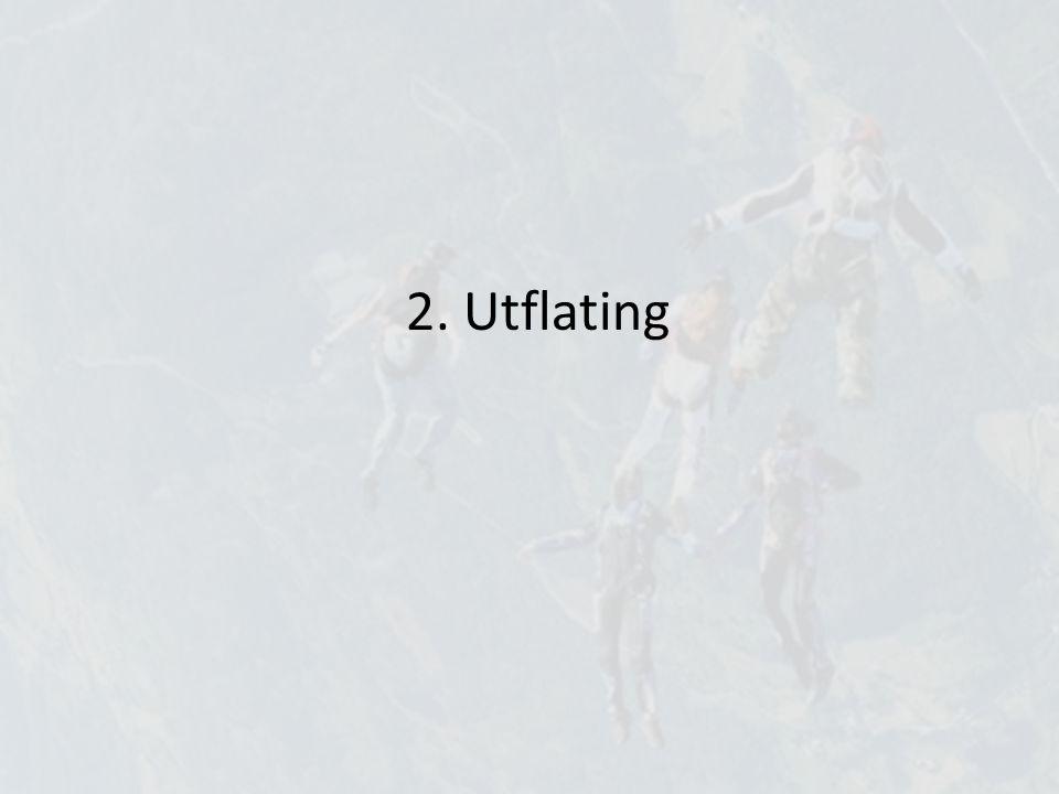 2. Utflating