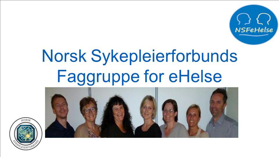 Norsk Sykepleierforbunds Faggruppe for eHelse