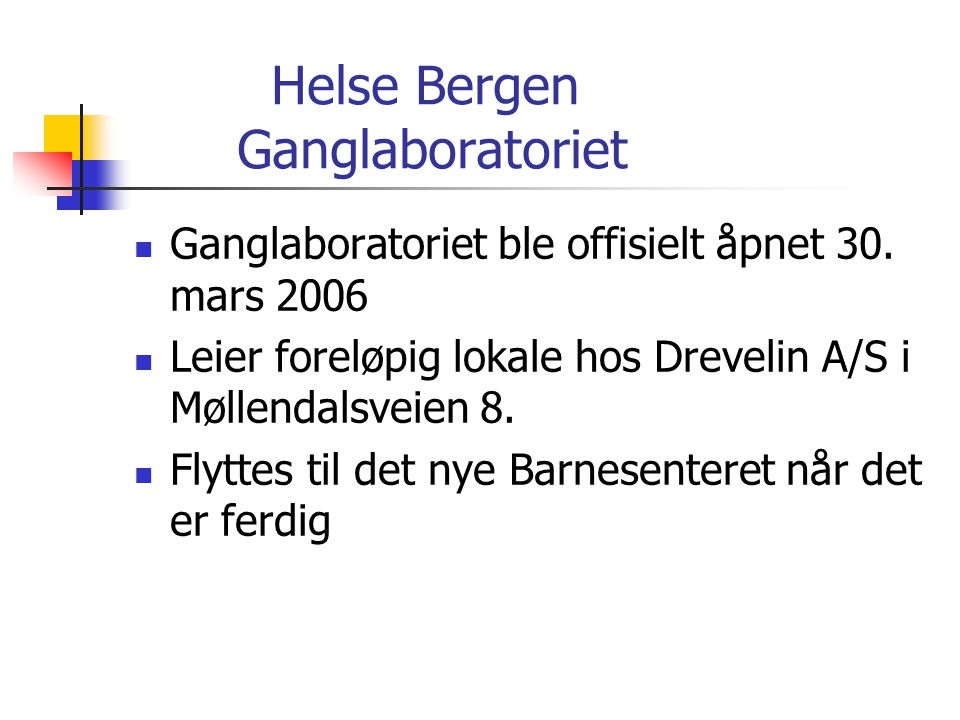 Ganglaboratorium  I ganglaboratoriet foretas en tredimensjonal databasert ganganalyse