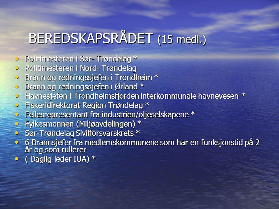 Etablering av Stab som prøveprosjekt • Som vertskommune etablerer Trondheim stab.