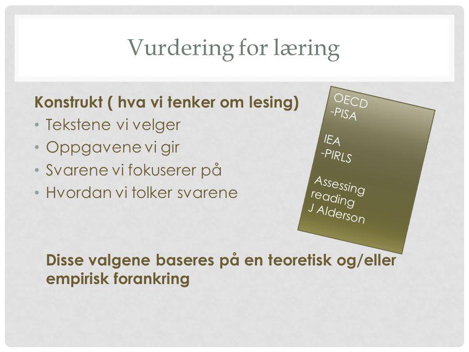 EGENVURDERING • Elevenes tanker om sin egen lesing gjør dem til bedre lærere av fremmedspråket