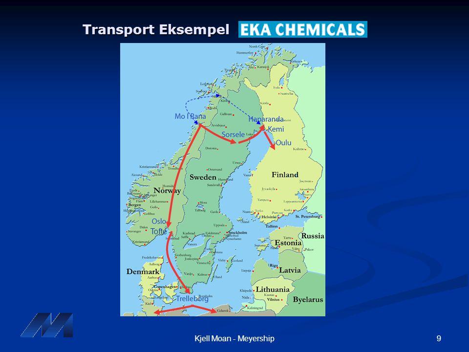 9Kjell Moan - Meyership Transport Eksempel Transport Eksempel Tofte