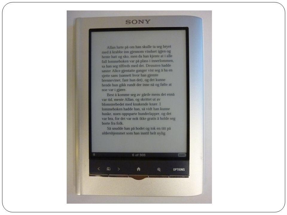 Hva skjer i 2012  Det vil trolig komme flere løsninger for nedlastning av e- bøker.