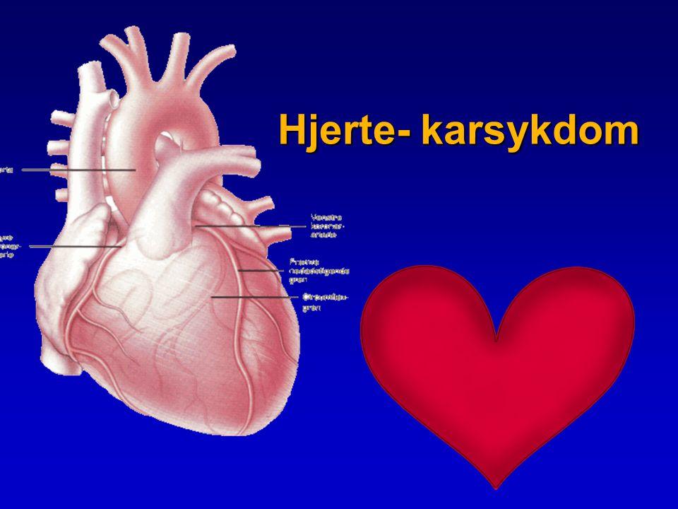 Hjerte- karsykdom