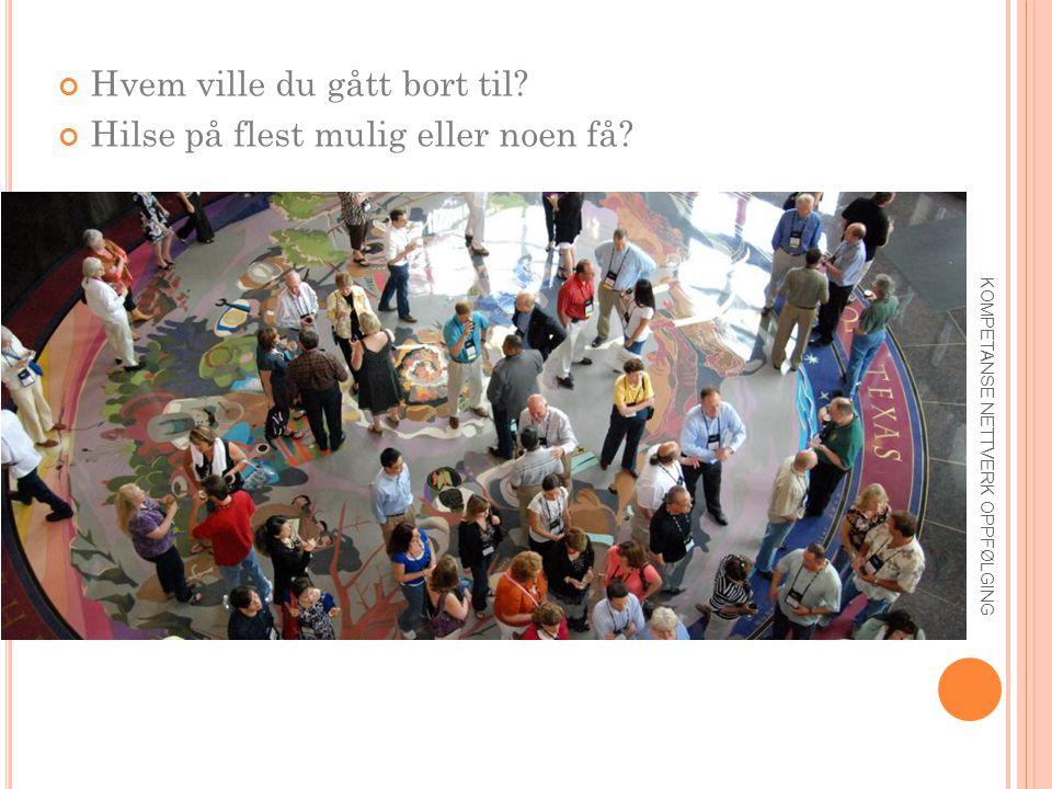 Ø VELSE – « HEISTALE » 30 sekunder (tweet):  Hvem er du/virksomheten.