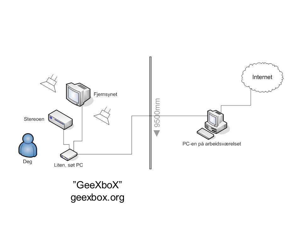 """GeeXboX"" geexbox.org"