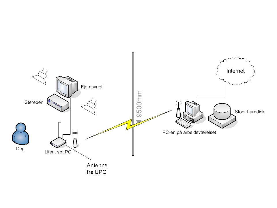 Antenne fra UPC