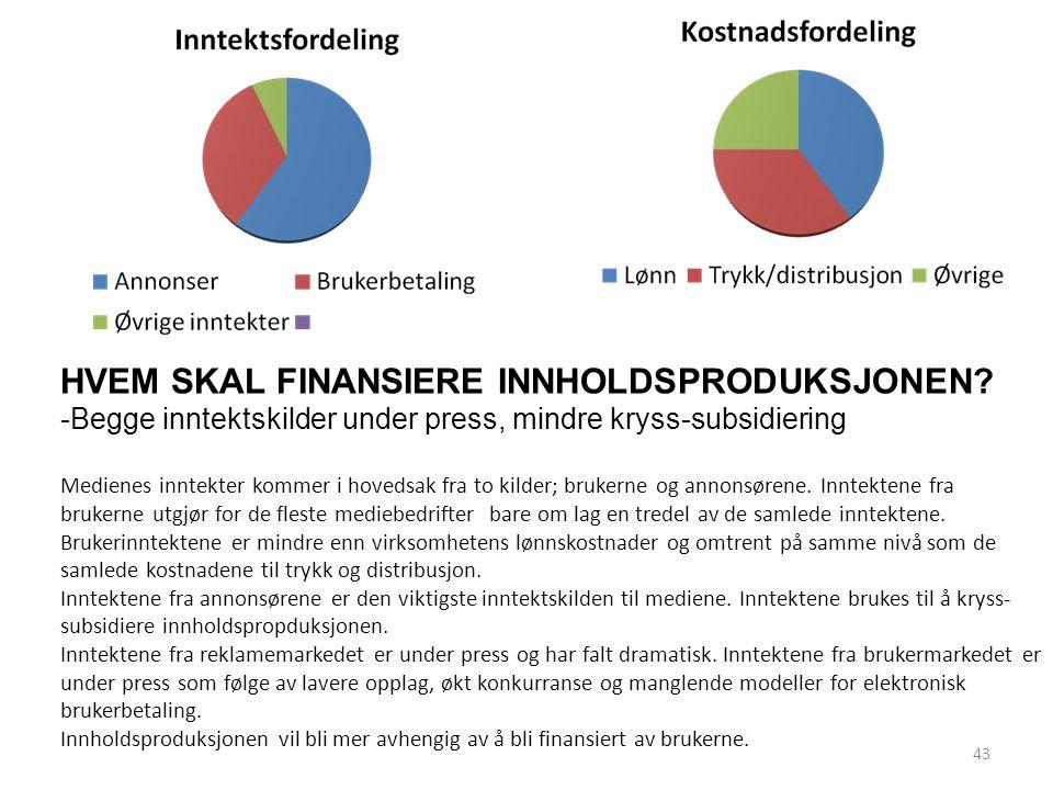 Bygger på tall for medlemmer i Norsk Journalistlag og Norsk Redaktørforening Undersøkelsen omfatter totalt 7487 redaksjonelle medarbeidere, dvs journalister og redaktører; 4020 i avis/nettavis, 2337 i TV/Radio, 596 i ukeblader, 340 i digitale medier og 160 i fagpressen.