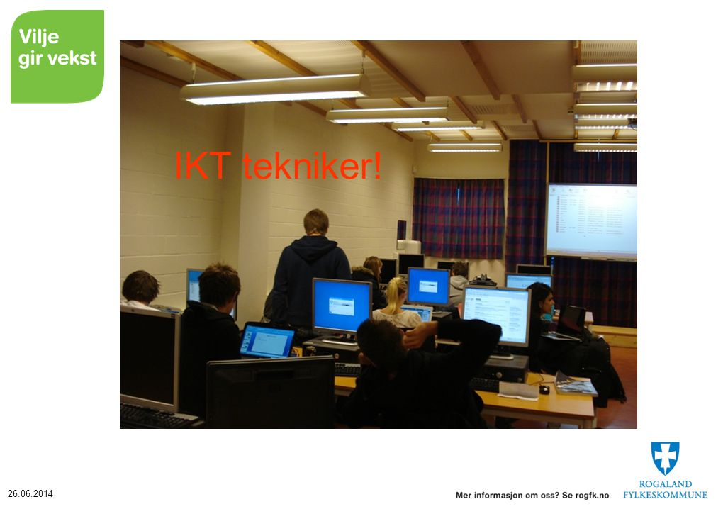 26.06.2014 IKT tekniker!