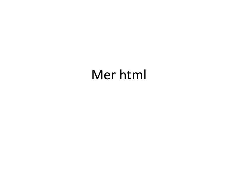 Mer html