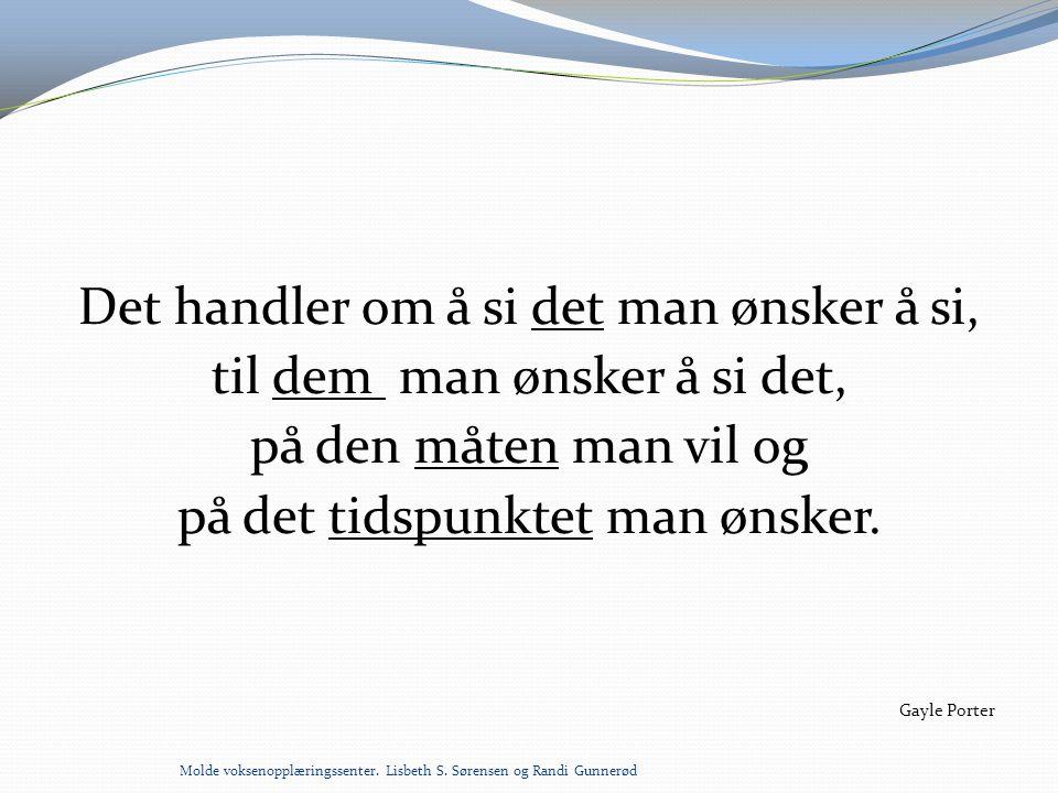 DAGSPLAN MED SYMBOLER OG BILDER Molde voksenopplæringssenter.