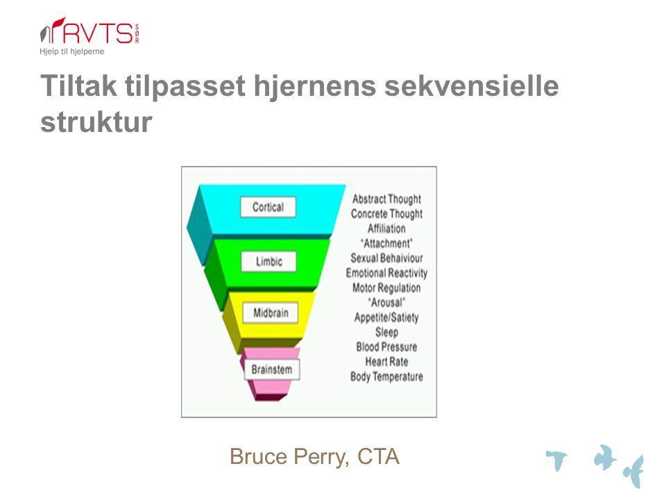 Tiltak tilpasset hjernens sekvensielle struktur Bruce Perry, CTA