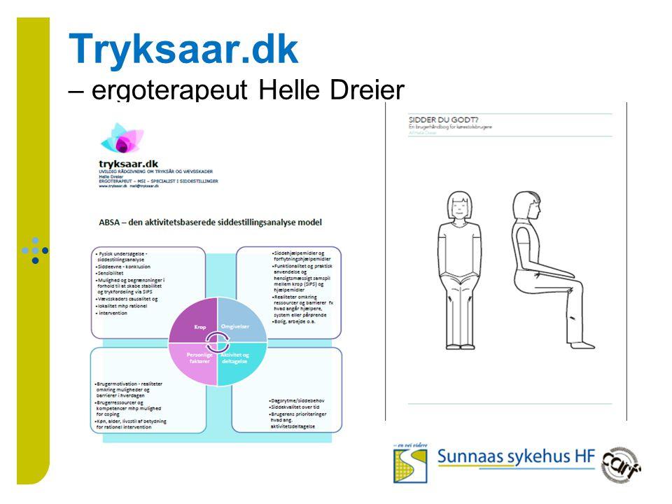 Tryksaar.dk – ergoterapeut Helle Dreier