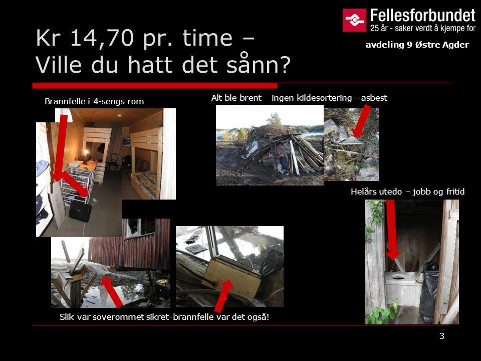 Kr 14,70 pr. time – Ville du hatt det sånn? 3 Slik var soverommet sikret- v Brannfelle i 4-sengs rom Alt ble brent – ingen kildesortering - asbest Hel