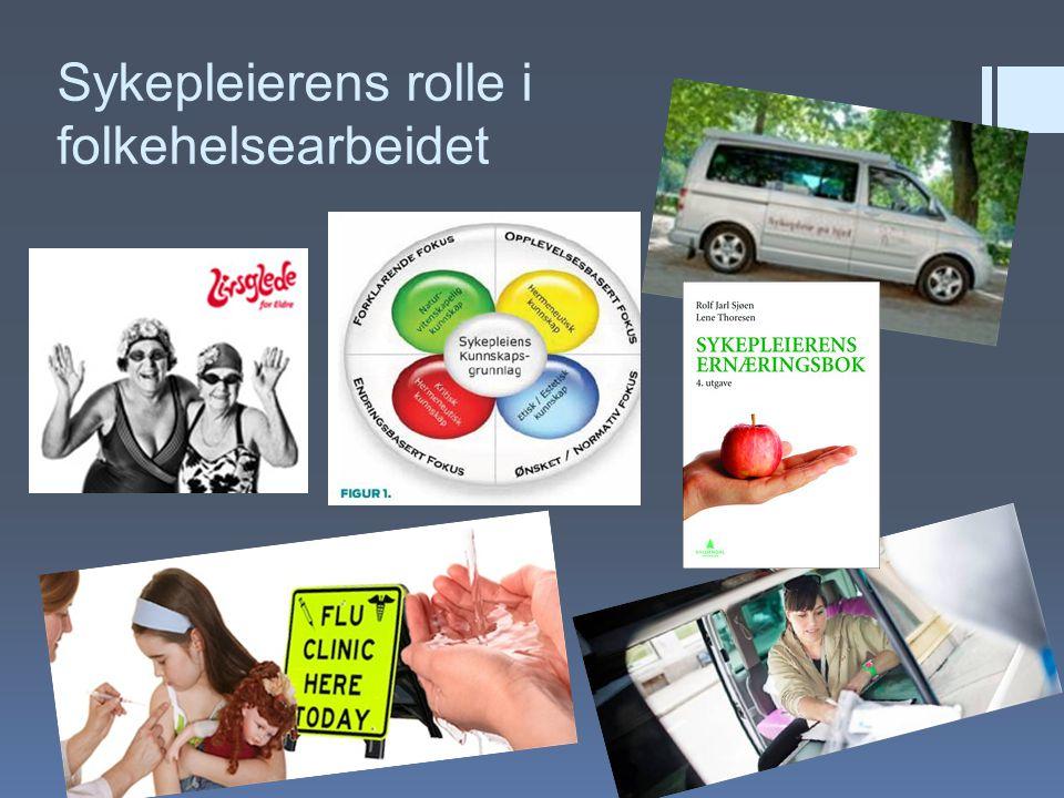 Sykepleierens rolle i folkehelsearbeidet
