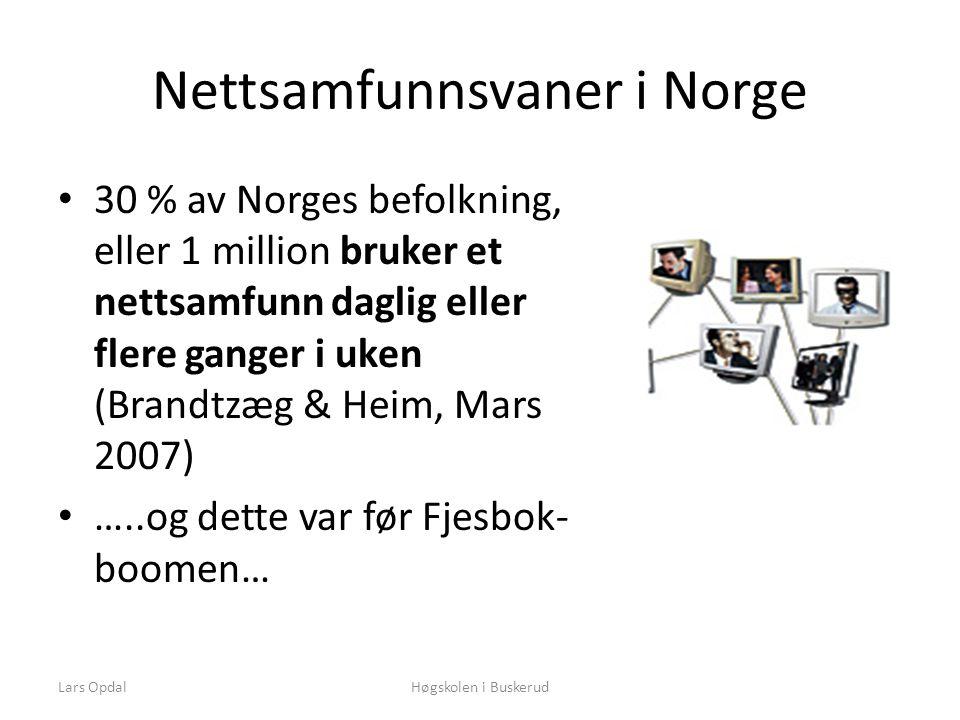Lars OpdalHøgskolen i Buskerud Hva er utfordringen.