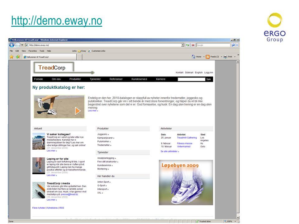http://demo.eway.no