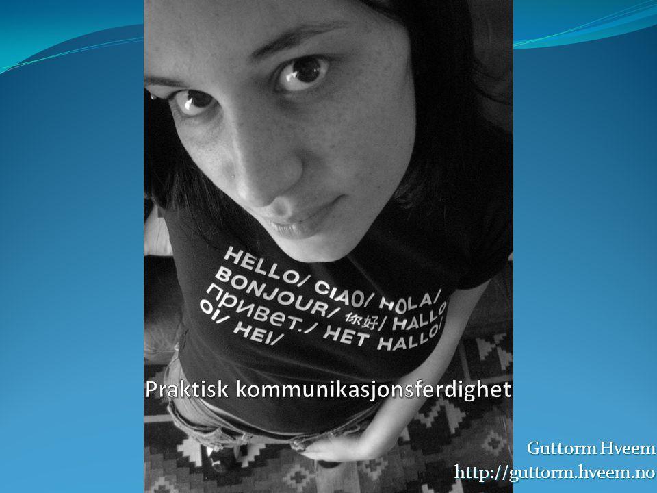 Guttorm Hveem http://guttorm.hveem.no