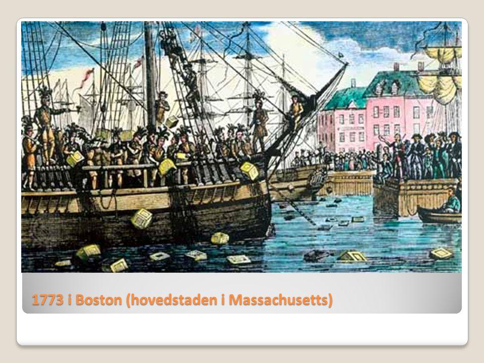 1773 i Boston (hovedstaden i Massachusetts)