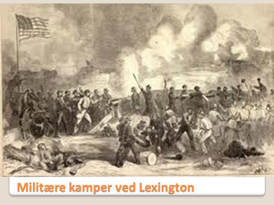 Militære kamper ved Lexington
