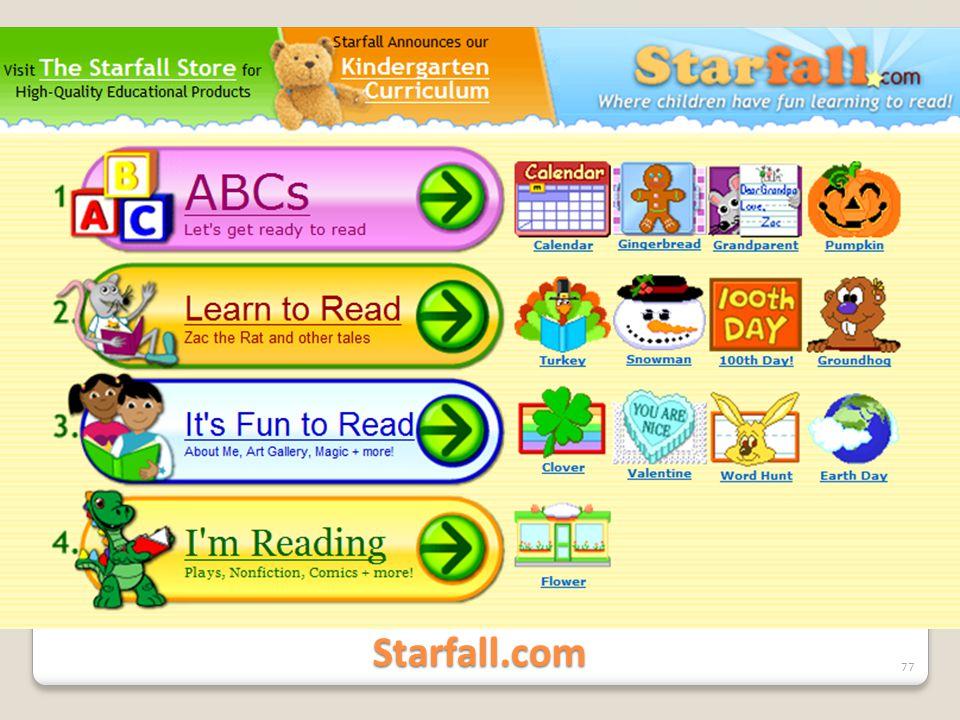 Starfall.com 77