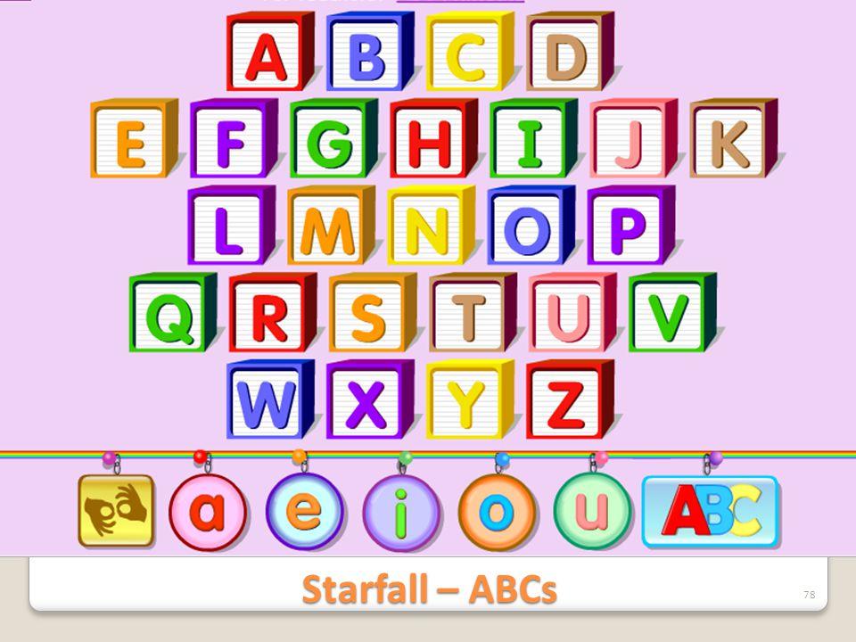 Starfall – ABCs 78