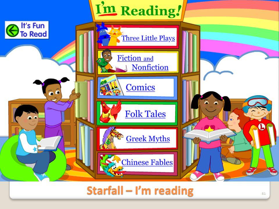 Starfall – I'm reading 81