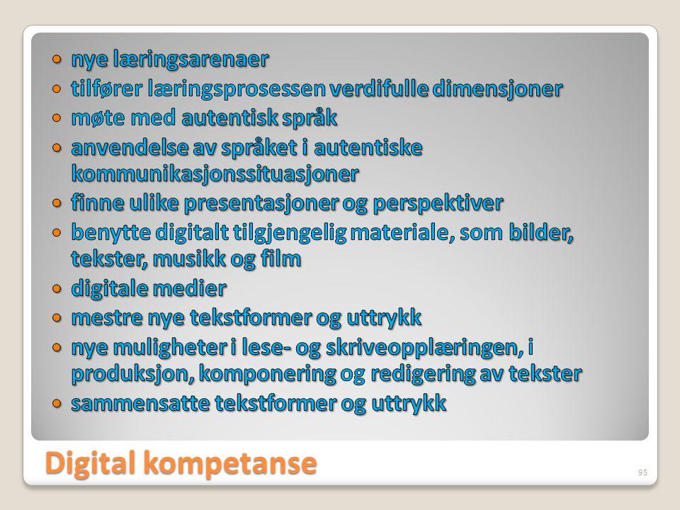 Digital kompetanse 95