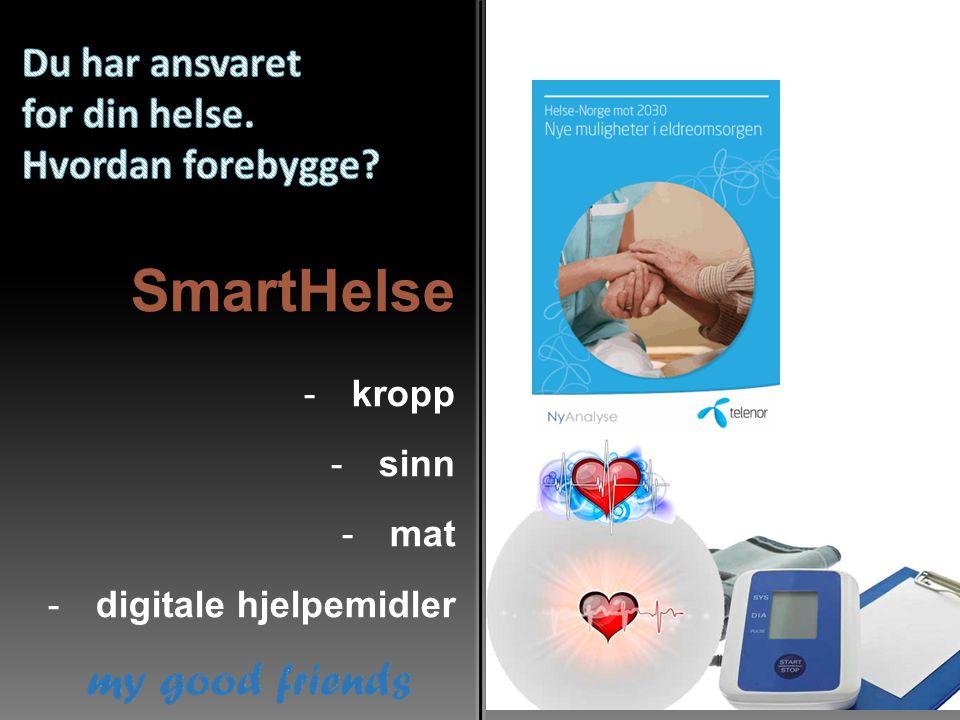 SmartHelse -kropp -sinn -mat -digitale hjelpemidler