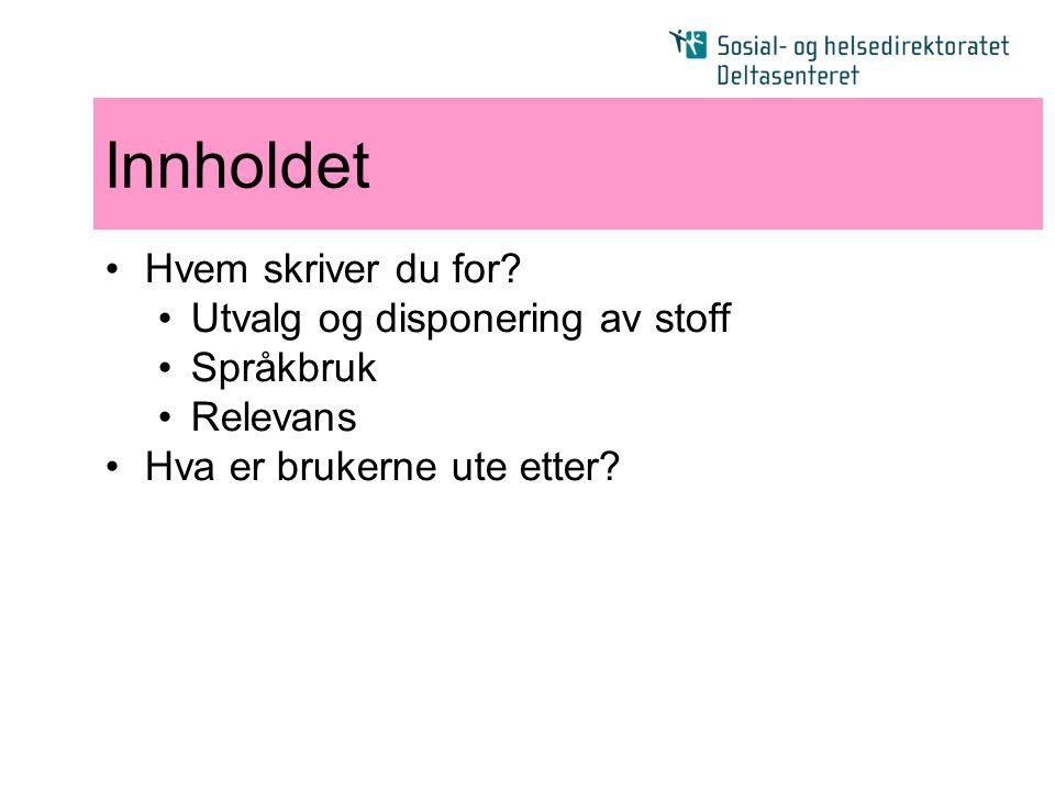 Takk for meg ! Haakon Aspelund haa@shdir.no Tlf: 24 16 35 59