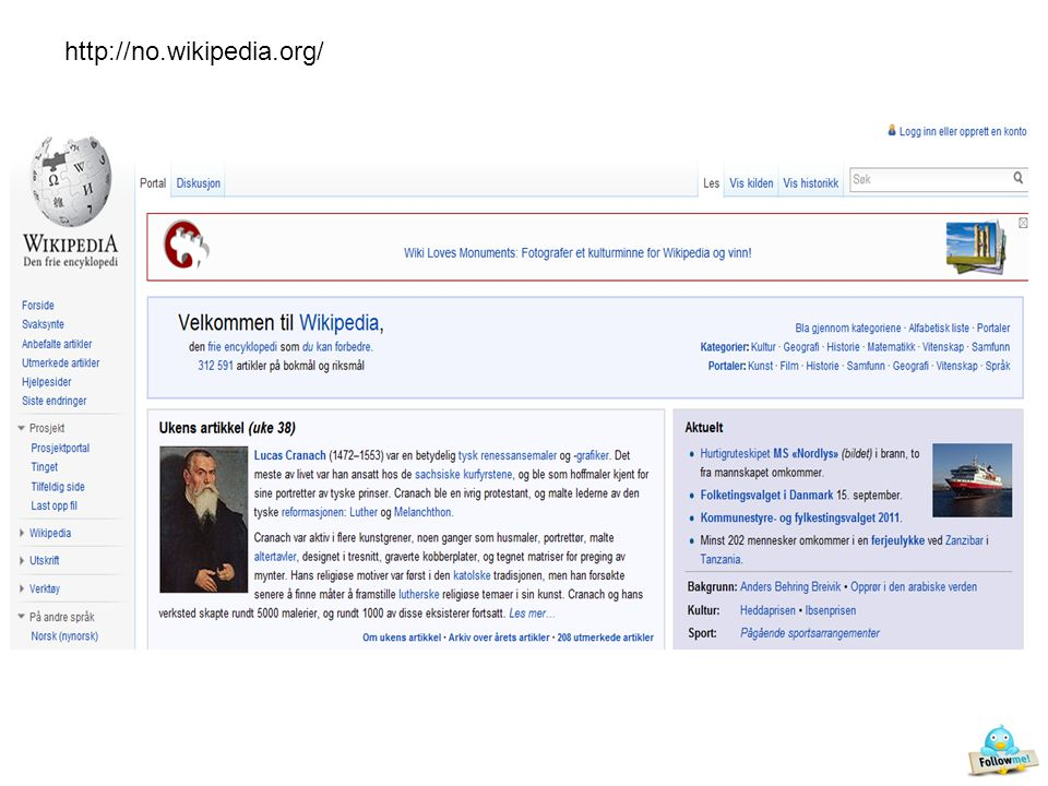 http://no.wikipedia.org/