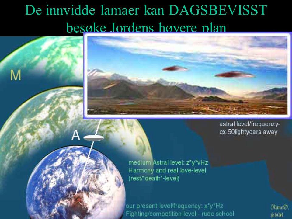 De innvidde lamaer kan DAGSBEVISST besøke Jordens høyere plan