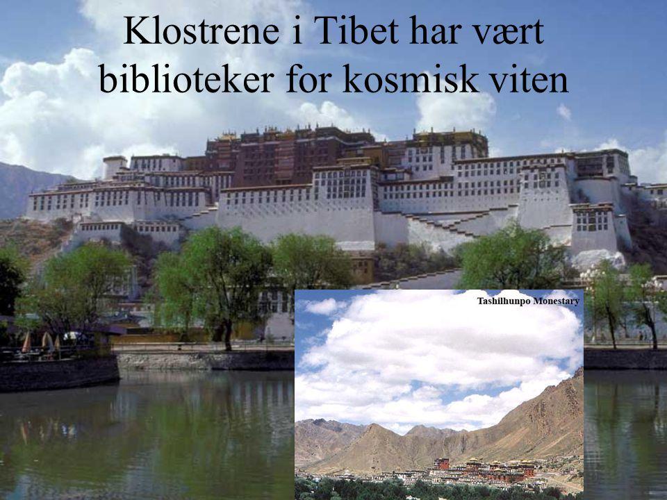 Klostrene i Tibet har vært biblioteker for kosmisk viten