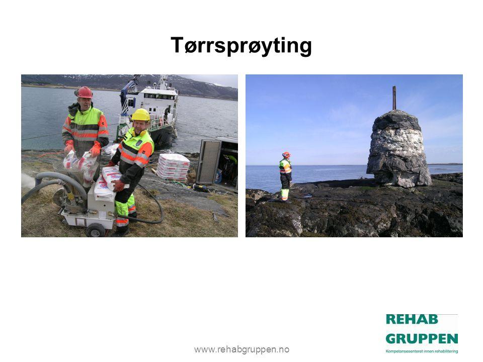 www.rehabgruppen.no Tørrsprøyting