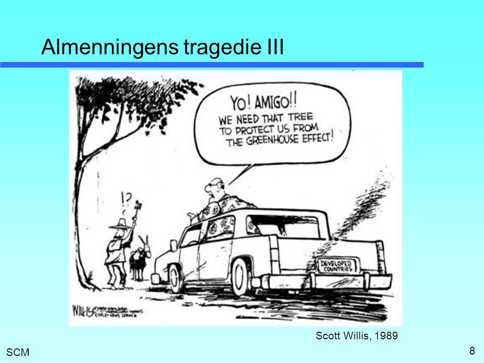 SCM Almenningens tragedie III 8 Scott Willis, 1989