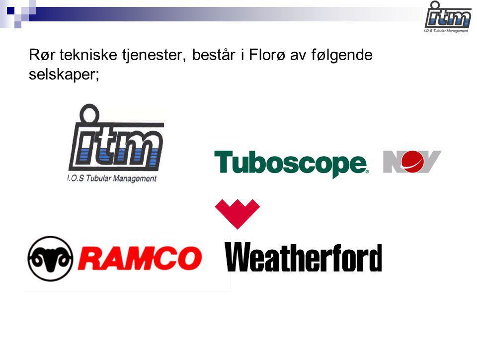 Rør tekniske tjenester, består i Florø av følgende selskaper;