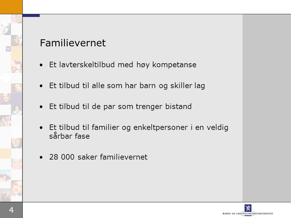 5 Hva kan familievernet tilby.
