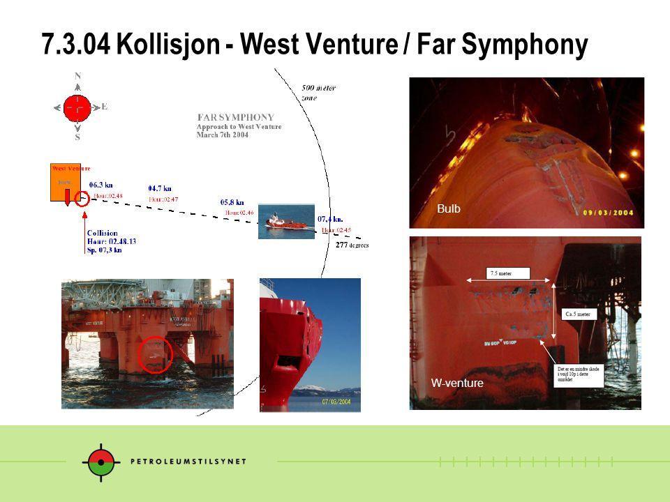 7.3.04 Kollisjon - West Venture / Far Symphony Bulb W-venture