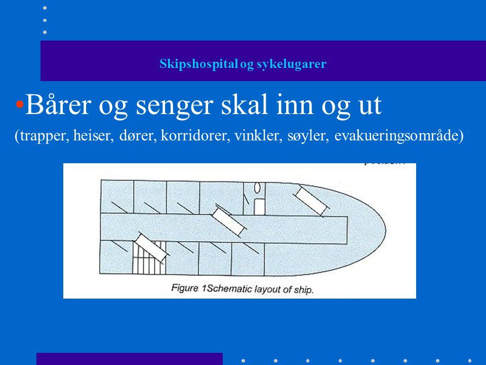 Skipshospitalet på cruise skip - Design / Lay-out Følg alle pålagte regler •Eier •Byggeland (verft) •Flagg-stat •Forsikringsselskp •'Internasjonale' organisasjoner