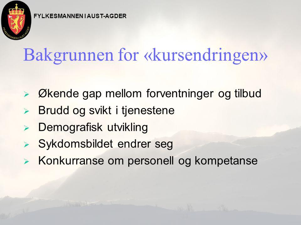 FYLKESMANNEN I AUST-AGDER Norge i 2030 n Bruker vi sykehusene på samme måte som nå, må helsevesenet ansette annenhver ungdom – og fremskaffe 5000 nye sengeplasser Årsak – Fra 70 år og oppover brukes spesialisthelsetjenesten mye mer, og vi får flere eldre.