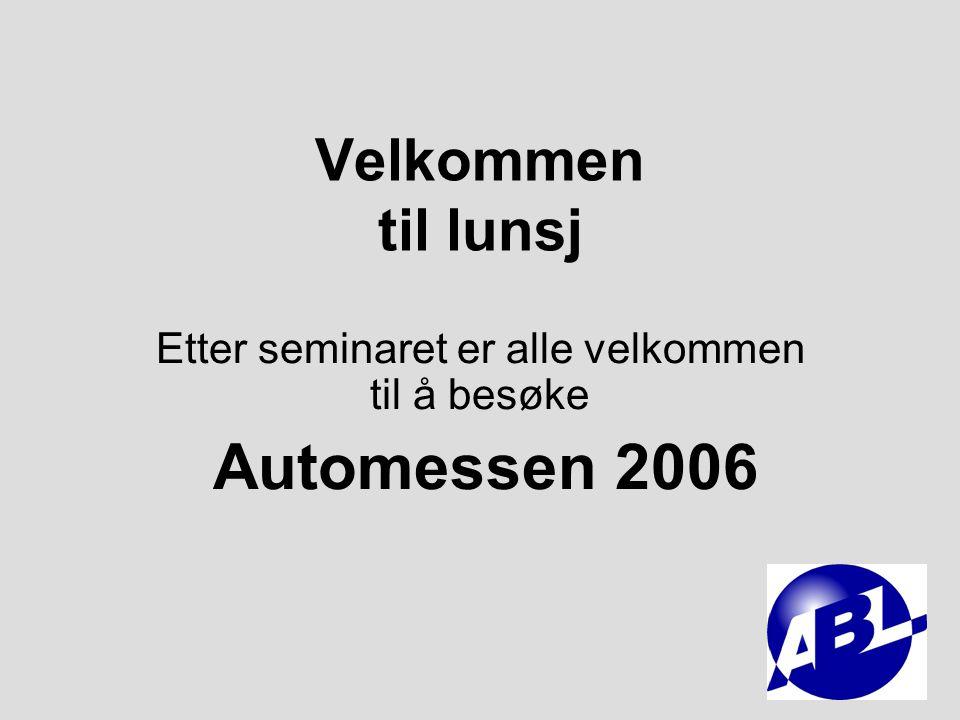 Retten til å reparere fritt og en åpen konkurranse La forbrukeren velge hvor han/hun skal foreta service og reparasjoner Arild Hansen Autobransjens leverandørforening Tlf: 907 74 601 E-post: arild.hansen@autobransjen.no