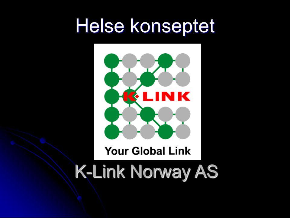 K-Link Norway AS Helse konseptet