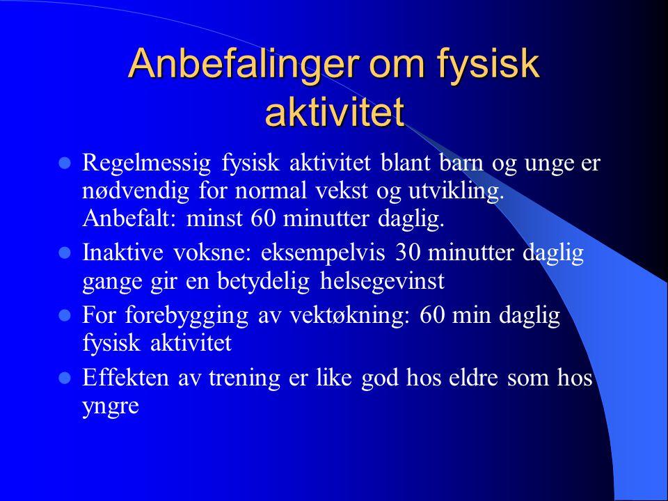 """""""Resept for et sunnere Norge""""  Flere leveår med god helse  Å redusere helseforskjellene i befolkningen  Skape gode forutsetninger for å ta ansvar f"""