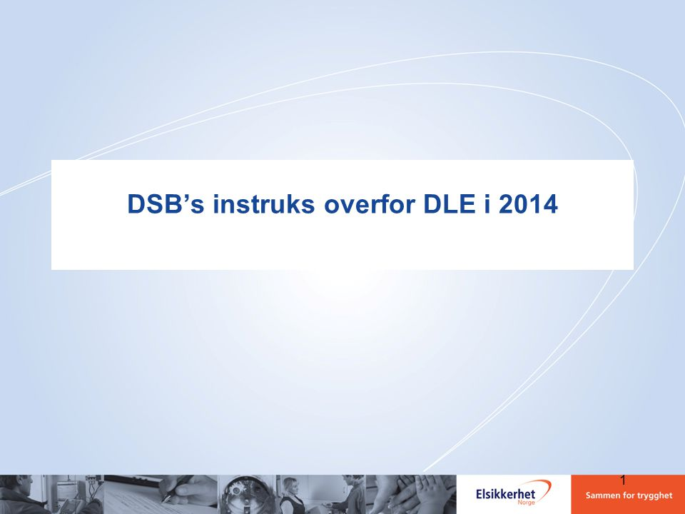 DSB's instruks overfor DLE i 2014 1
