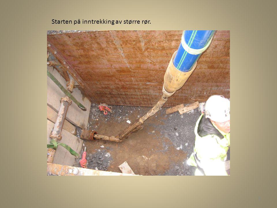 Mandag 19.10.09 • Leste igjennom et forprosjekt ang nytt anlegg der det på et strekke er 400mm rør, så er det 150mm, og så 400mm igjen.