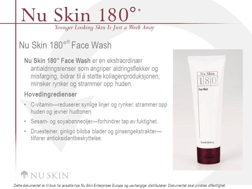 © 2001 Nu Skin International, Inc Dette dokumentet er til bruk for ansatte hos Nu Skin Enterprises Europe og uavhengige distributører.