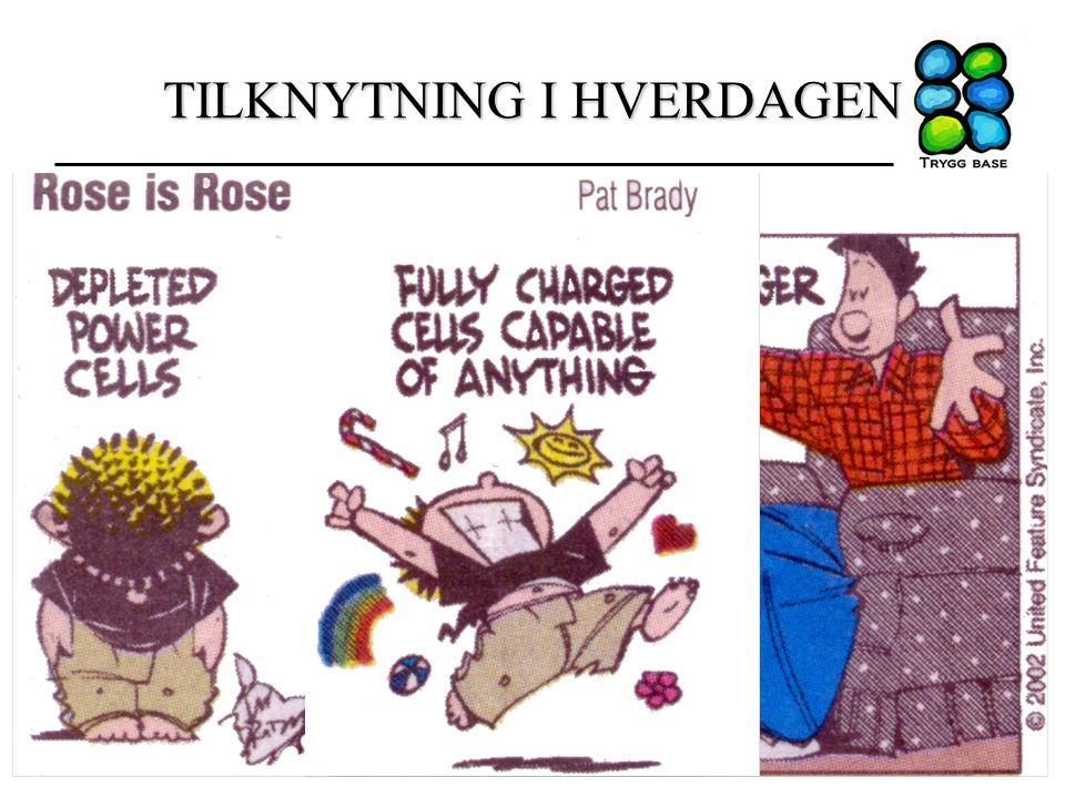 TILKNYTNING I HVERDAGEN 25.04.13Tilknytning i barnehagen / PPT Stavanger4