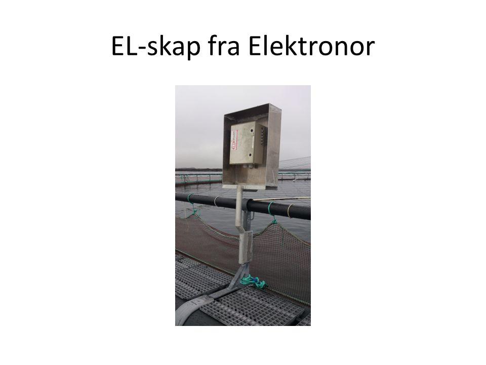 EL-skap fra Elektronor