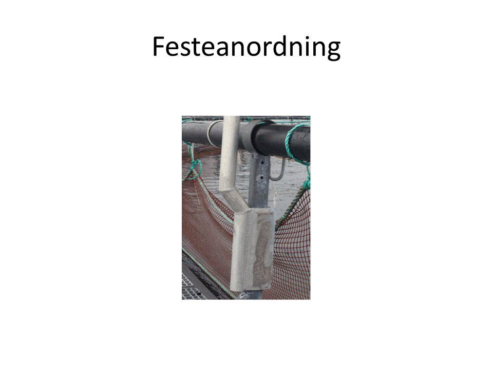 Drift/vedlikehold • Skapet med tilhørende innfesting kontrolleres daglig i forbindelse med foring og dødfiskopptak • Kontrolleres for vanninntrenging daglig