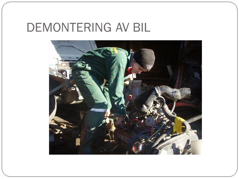 DEMONTERING AV BIL